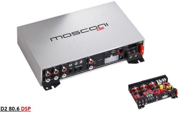 Mosconi Gladen D2 80.6 DSP Verstärker