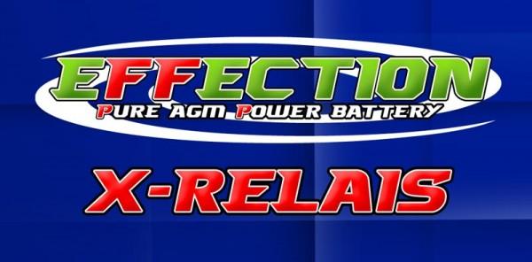 Effection X-100-Relais für Pure AGM Power Batterie