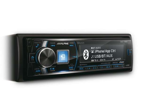 Alpine CDE 178BT CD-Receiver +Bluetooth