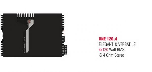 Mosconi Gladen ONE 120.4 24V Endstufe