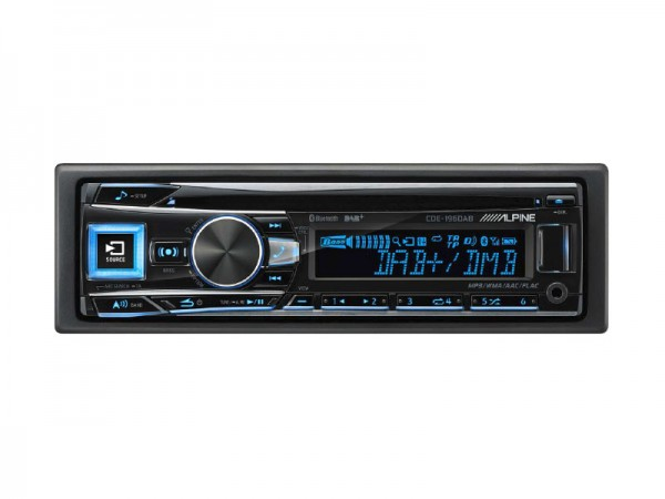 Alpine CDE-196DAB CD Receiver
