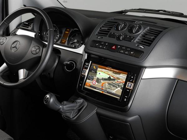 Alpine X800D-V Advanced Navi Station Mercedes Vito+Viano
