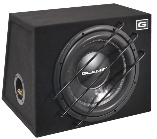Gladen Audio ALPHA 10 SB Gehäusesubwoofer