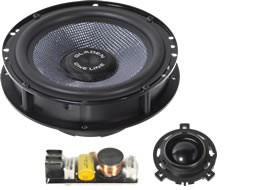 Gladen Audio One 165 Golf 4 Bora Passat B5 SQX