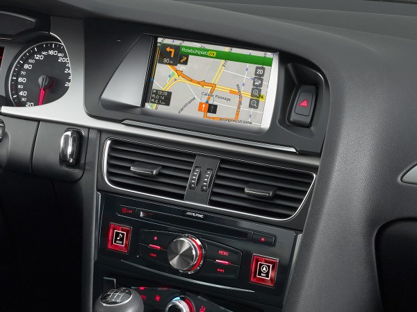 Alpine X702D-A4L Advanced Navi Station Audi A4 Audi A5