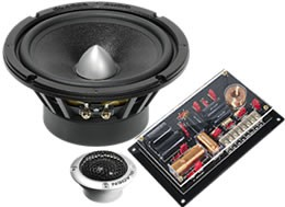 Gladen Audio Zero Pro Line 165.2 PP High-End Komposystem (passiv)