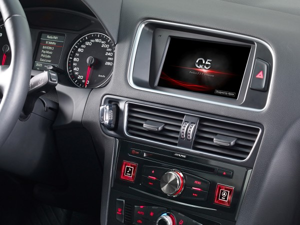 Alpine X702D-Q5L Advanced Navi Station Audi Q5
