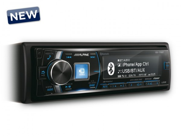 Alpine IDE 178BT Digital Media Receiver +Bluetooth