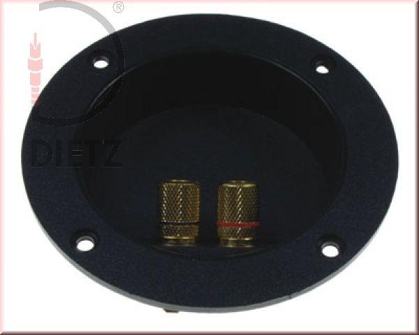 LS-Terminal rund d=105 mm, 2 Anschlüsse