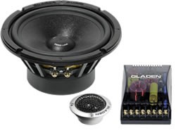 Gladen Audio Zero Pro Line 165.2 DC High-End Komposystem (passiv)