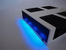 Mosconi LED Seitenteile blau