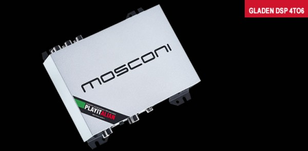 Mosconi Gladen 4to6 SP-DIF Digitaler Soundprozessor