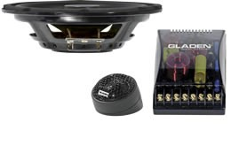 Gladen Audio SQX Line SLIM 165 Komposystem