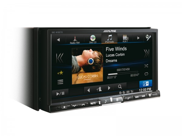 Alpine INE-W987D All-in-One Navigation 7 Zoll