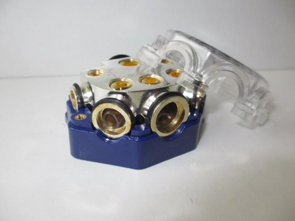 Strom / Masseverteiler 50mm² auf 2x10mm², 2x25mm², 1x35mm²