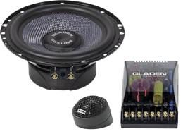 Gladen Audio SQX Line 165 Dual Komposystem