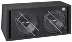 Gladen Audio 12 M-Line Dual Gehäusesubwoofer
